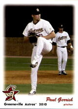 2010 Greeneville Astros Grandstand #13 Paul Gerrish Filer Idaho ID Baseball Card