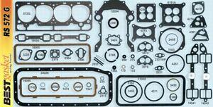 Ford/Edsel/Mercury 272 292 Y-Block V8 Full Engine Gasket Set/Kit BEST 1955-1964