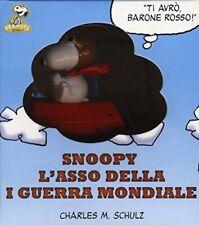 Snoopy: l'asso della prima guerra mondiale, formato 7x8 cm NUOVO DA LIBRERIA