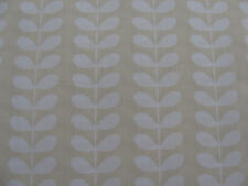 Orla Kiely pequeño tallo lineal Crema 2 M 200 cm cuadrado Butternut Squash Tela Nuevo