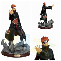 Anime Naruto Shippuden Akatsuki PAIN PVC Figure Model Toy 27cm New in Box