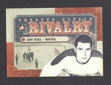 ITG Forever Rivals Rivalry Gerry McNeil Montreal Canadiens Goalie Card #RI-05