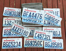 100 Washington State Craft Condition License Plates - Bulk Lot/Wholesale Lot