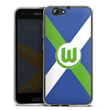 HTC One A9 s Silikon Hülle Case HandyHülle - Vfl Wolfsburg - Fussball ist alles