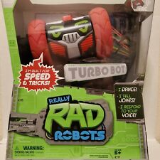 Really RAD Robots - Electronic Remote Control Robot with Voice Command Turbo Bot