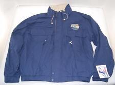 NEW Logo Athletic Super Bowl XXXIII Zip Up Hooded Windbreaker Jacket Miami 1999