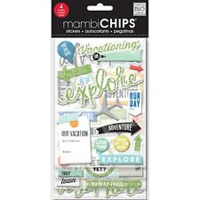 Me & My Big Ideas Chipboard Value Pack-vacation