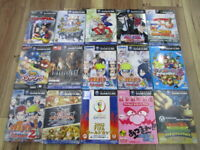 Nintendo Gamecube Lot of 15 Piece Complete Smash Bros. Star Fox Japan d366