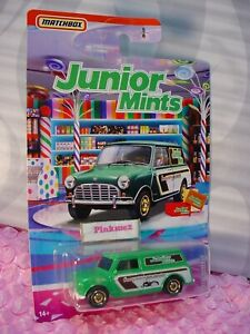 Sweet Rides Junior Mints 65 AUSTIN MINI VAN Green/White;Chocolate 2020 Matchbox