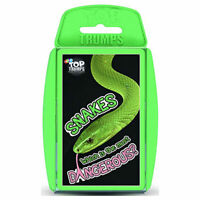 Top Trumps Card Game Snakes
