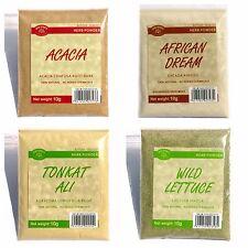 40 GRAMS HERBS VARIETY SET065 African Dream Herb Tongkat Ali Wild Lettuce THAILA