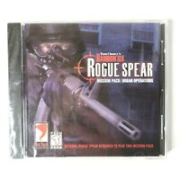 Tom Clancy's Rainbow Six Rogue Spear Mission Pack: Urban Operations 2000 PC