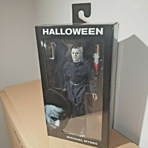 """NECA HALLOWEEN 2018 MICHAEL MYERS 8"""" CLOTHED ACTION FIGURE RETRO DOLL 2019"""