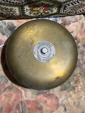 Vintage Electric Henschel Corp. Brass US Navy Ship's Alarm or Bell Type IC/B2S4