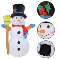 Modèle gonflable de bonhomme de neige de Noël de 1,2M LED décor extérieur de
