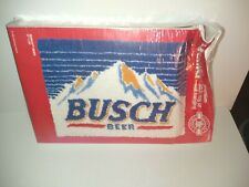 "Bucilla 1994 ""Busch Beer"" Premium Latch Rug or Wall Hanging Kit Size 20"" x 27"""