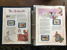 Classic Disney Movies Collector Panels  , 2 Books , 13 Stories with Stamps