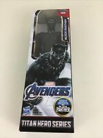 "Marvel Avengers Titan Hero Series Black Panther 12"" Action Figure Doll Hasbro"