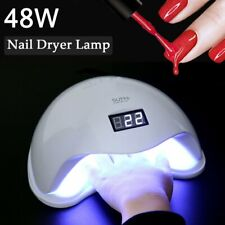 Professional 48W Nail Dryer Led Lamp Nails Polish Gel Manicure Machine Sun5 Us