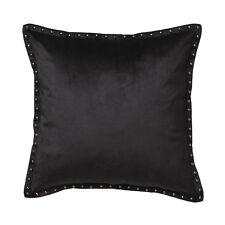 Davinci Preston Black Filled Square Cushion 45cm x 45cm