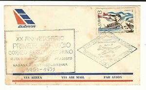 Chile: First flight, anniversary Habana Santiago-Habana night fly. CH02/