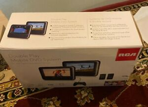 RCA double play mobile dvd system w/two 7 inch screens