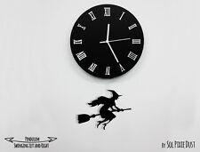 Halloween Witch 1 - Pendulum Wall Clock