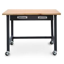 Portable Work Bench Steel Garage Table Tool Storage Workshop Heavy Duty Drawer