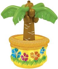 "Palm Tree Drink Beer Cooler 26"" Garden Party Decoration Luau Tropical BBQ Summer"