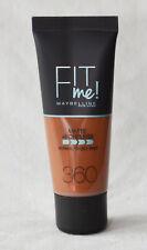 Maybelline New York Fit me matte & poreless Foundation Farbe 360 Mocca-   NEU
