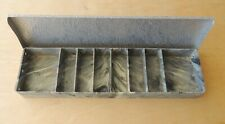 Rare Philson 8-Compartment Tackle Box with Metal Lid