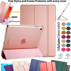 For Apple iPad 6th Generation (2018) Smart Pu Leather Magnetic Case Cover