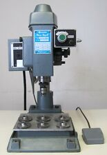 Yuasa Accu Tap Ii Precision Tapping Machine 220v 3 Phase With Extra Gears