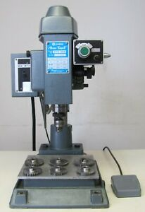 Yuasa Accu-Tap II Precision Tapping Machine 220V 3 Phase with Extra Gears