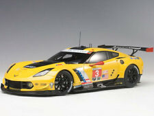 Autoart Chevrolet Corvette C7 R Lime Rock 2016 2nd Place 1:18 81607 #3 Yellow