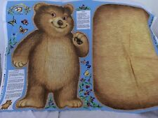"""BEARY BERRY PATCH LAUNDRY BAG PANEL  29.5"""" X 44"""""""