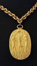 MMA Museum Art Egyptian Treasure Of King Tut Pendant 1976