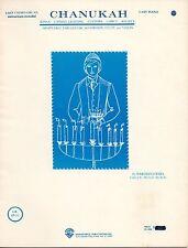 "HAROLD GOYDEL ""CHANUKAH"" SHEET MUSIC 1978 warner bros. publications"