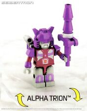 ALPHA TRION Transformers Kre-o Micro-Changers Series 4 33 Kreon New Sealed G1