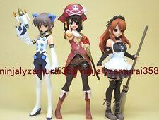 Melancholy of Haruhi Suzumiya cosplay mini figure set Mikuru Asahina Yuki Nagato
