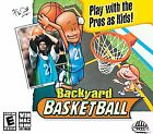 Backyard Basketball Windows Mac 2001 Cd Rom Computer Software Sports Video Game