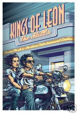 KINGS OF LEON Brisbane Australia 16/03/2009 Gig Poster
