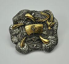 * Wikinger Belt Buckle Gürtelschnalle Kelten Thor Odin Mittelalter  *386