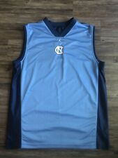Vintage Nike Jordan Unc Tar Heels Blue Reversible Basketball Jersey Men Sz 2Xl