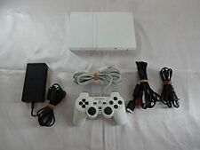 PS2 Slim Console System Ceramic White SCPH-75000 Playstation 2 SONY japan