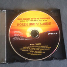 Red room and elements chill out for mind and soul hören und staunen CD