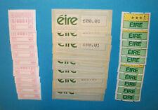 Ireland ATM 1-3 / 10 pcs. each MNH / Soar / Frama Amiel Klüssendorf