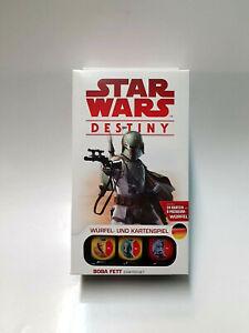 """Star Wars Destiny - """"Boba Fett"""" Starter Set OVP"""
