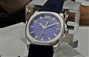 Armand Nicolet J09-3 Blue Stainless Steel A660AAA