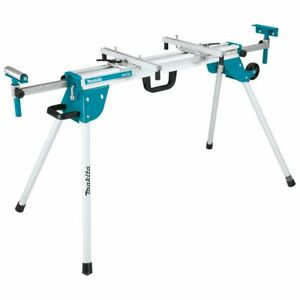 Makita WST06 100-1/2-Inch Adjustable Feed Roller Compact Folding Miter Saw Stand